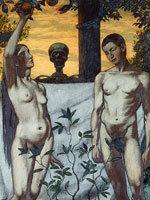 Ганс Тома - Адам и Ева. Источник: www.hermitage.ru
