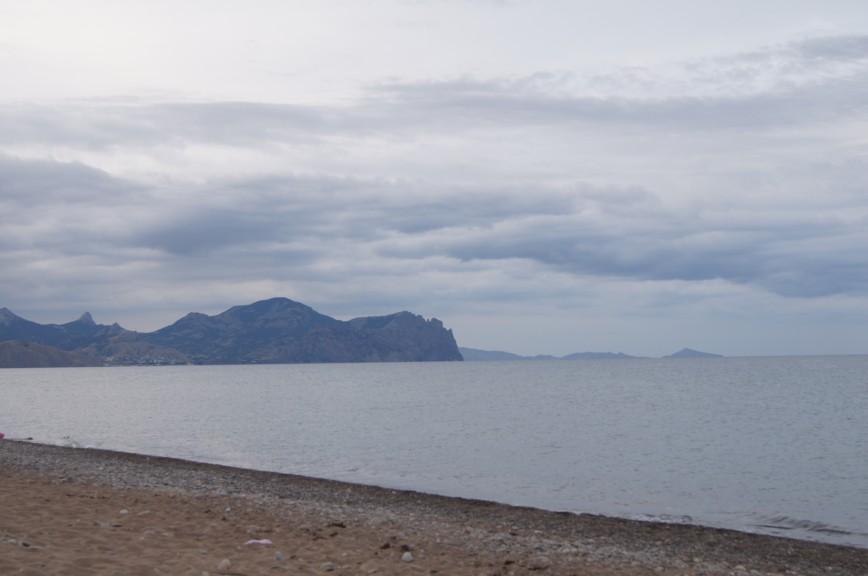 Переполненные пляжи Крыма :)
