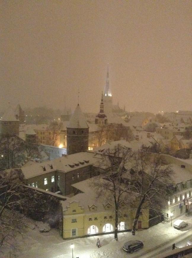 Таллин 5 января