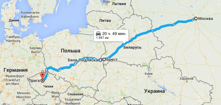 Дорога зовет или едем в Европу на автомобиле