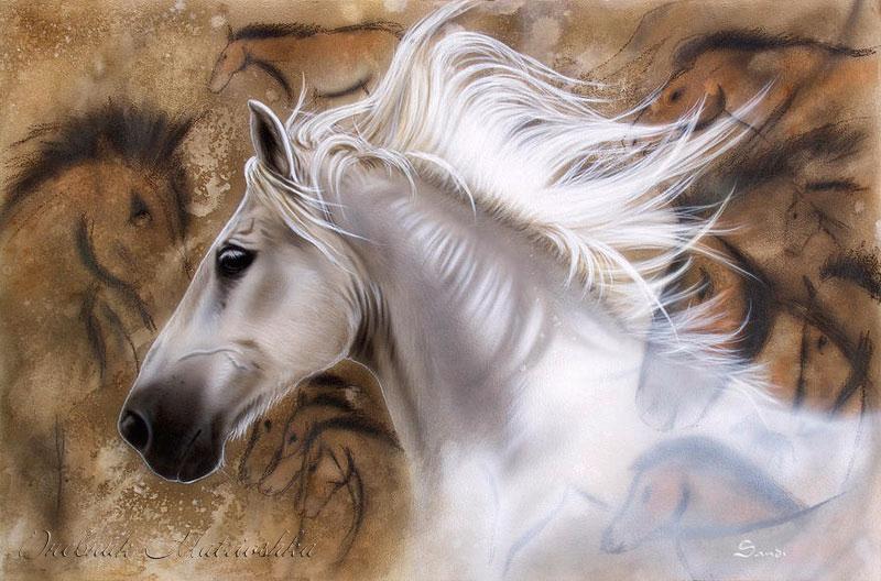 Реалистичные рисунки животных от SANDI BAKER