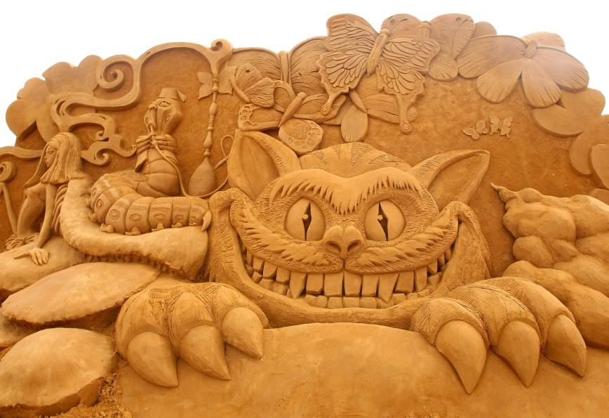 Международный фестиваль песчаной скульптуры в Бостоне