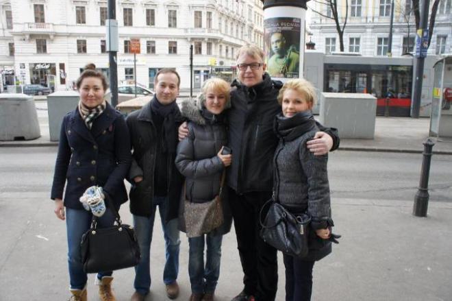 Вена 08.02.2014 с Энди Флетчером из Депешей