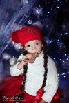 Новогоднее настроение в современных детских фотографиях