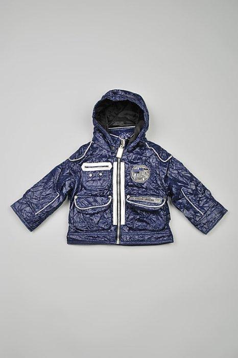 куртка Орби с мигалкой на спине, как на фото только серая, р.116, носили мало, 700руб.
