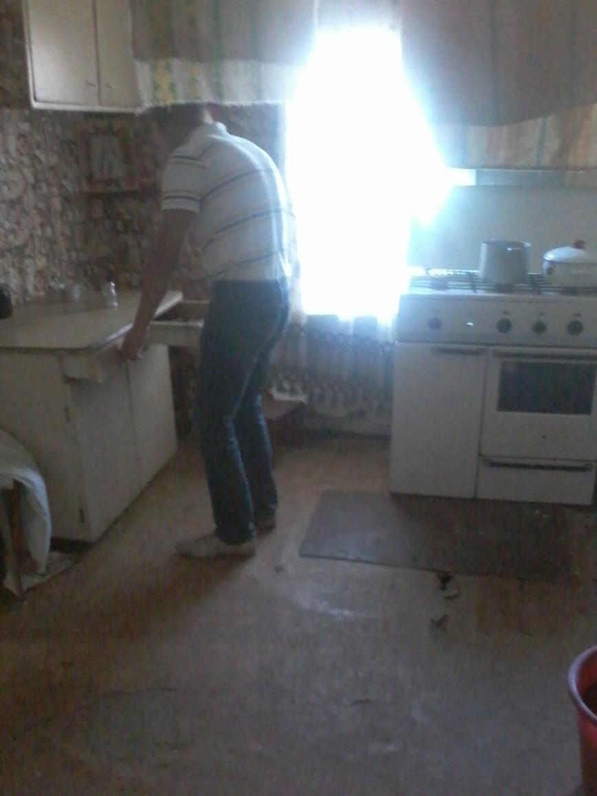 Кухня с другой стороны.