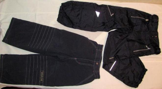 штаны на тонком синтепоне