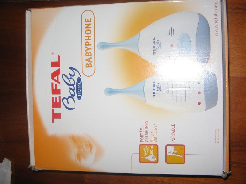 Продам радио-няню Тефаль. Новая, в упаковке с чеком. Была куплена в декабре 2005 года. Не использовалась...Цена 1 800 руб.