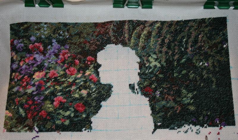 7/09/2007 [br]  Раздумываю, шить ли дальше сад или за дамочку взяться.