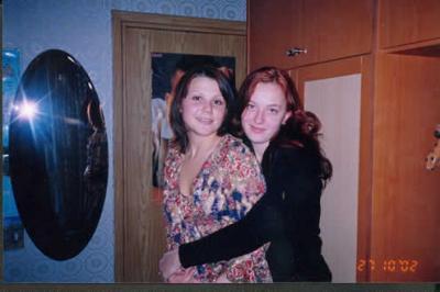 На дне рождения у Катюши (с ней же)