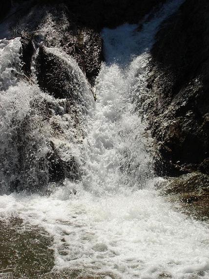 Водопадик в Болгарии, тогда же.