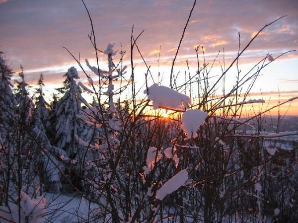 Закат на Тростяне