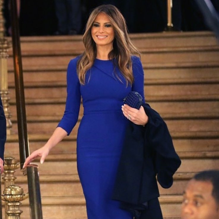 Меланию Трамп раскритиковали за вульгарность