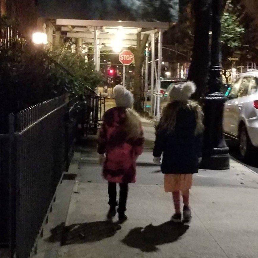 Сара Джессика Паркер показала своих дочек-близняшек