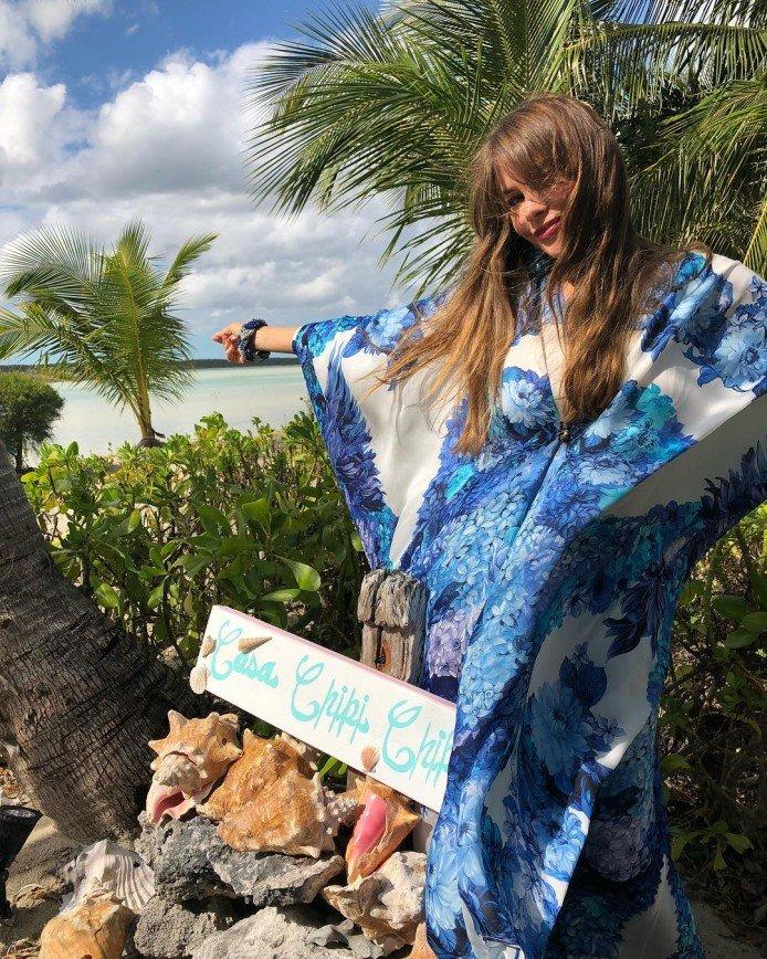 «Сногсшибательная женщина!»: 45-летняя София Вергара показала фигуру в купальнике
