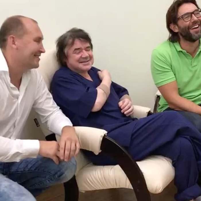 «Ты точно не в клинике пластической хирургии?» Евгений Осин побывал в гостях у Малахова