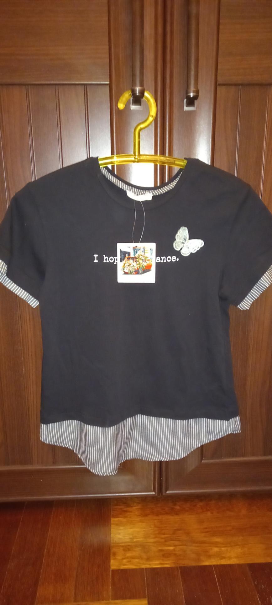 Новая указан S, качество классное обмен на муж.футболку р. 50 современную