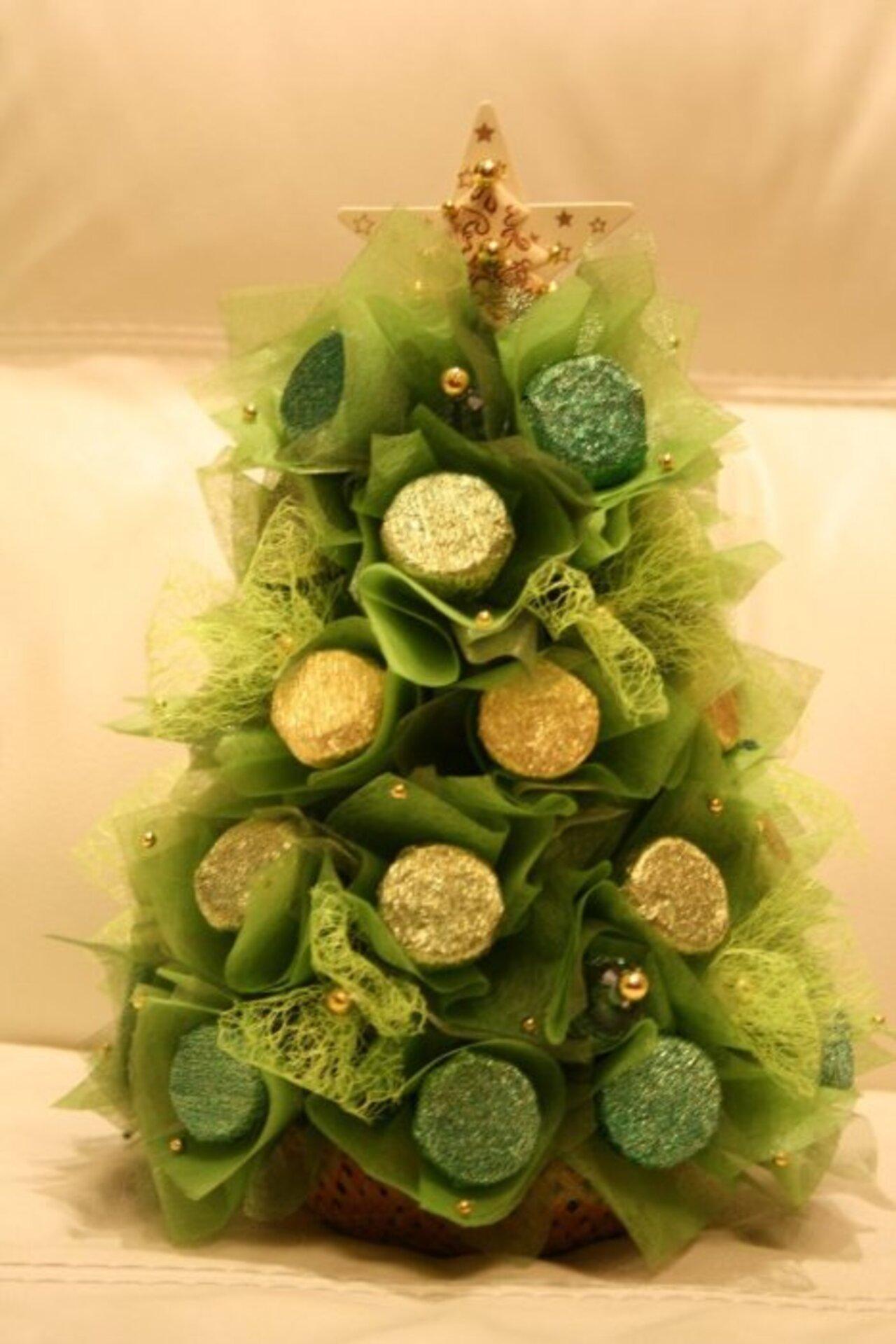 елка из фатина с конфетами картинки сослуживцев