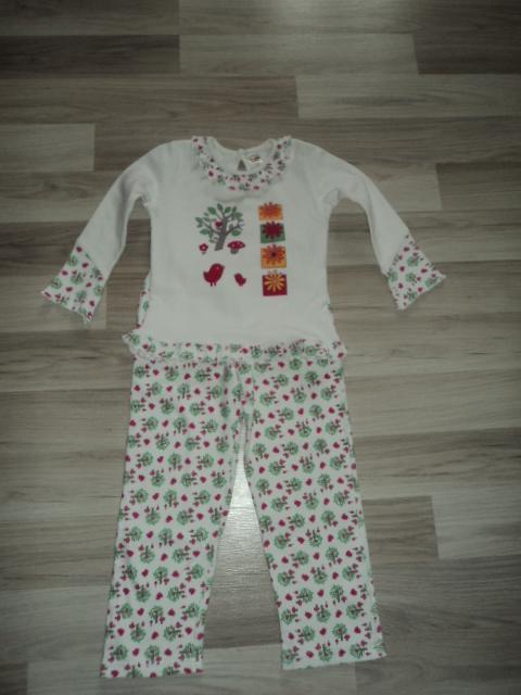 Пижама тепленькая 200 руб