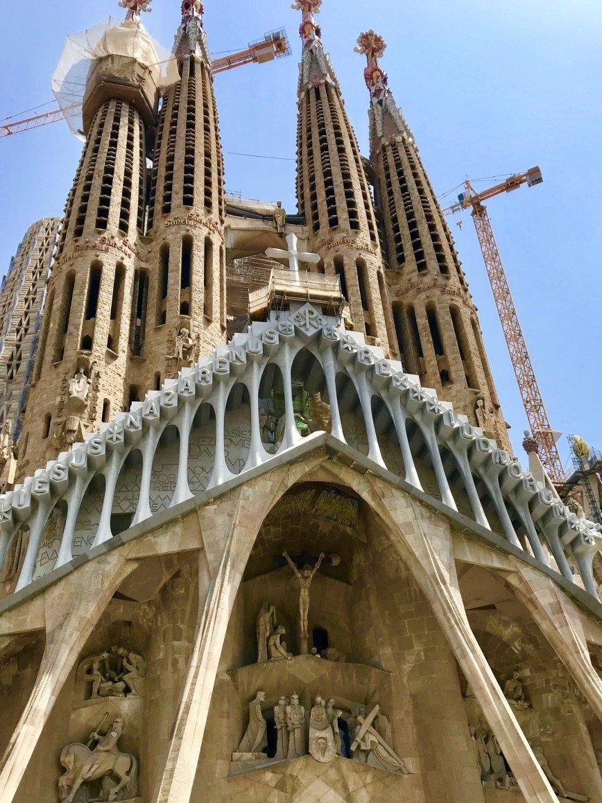 Автор: phonix, Фотозал: Туристические зарисовки, Barcelona,  Sagrada Familia.