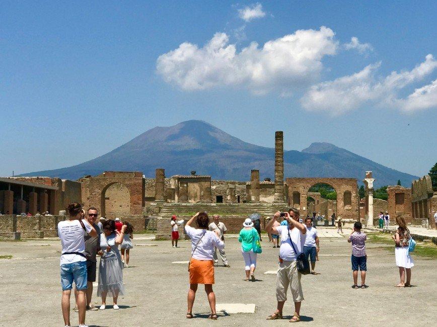 Автор: phonix, Фотозал: Туристические зарисовки, Помпеи и  гора Везувий.