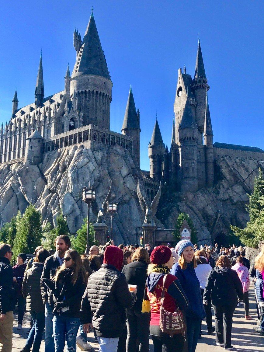 Автор: phonix, Фотозал: Туристические зарисовки, Universal Studios, Orlando.  Hogwarts Castle.