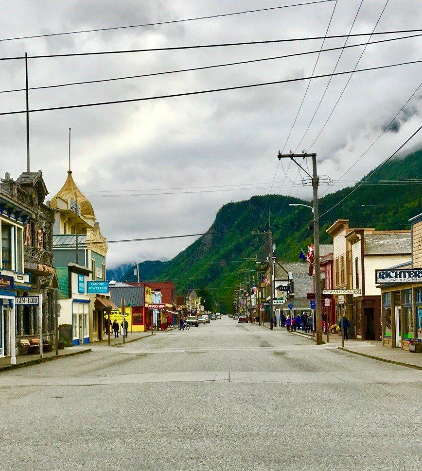 Автор: phonix, Фотозал: Туристические зарисовки, Скагвей, Аляска