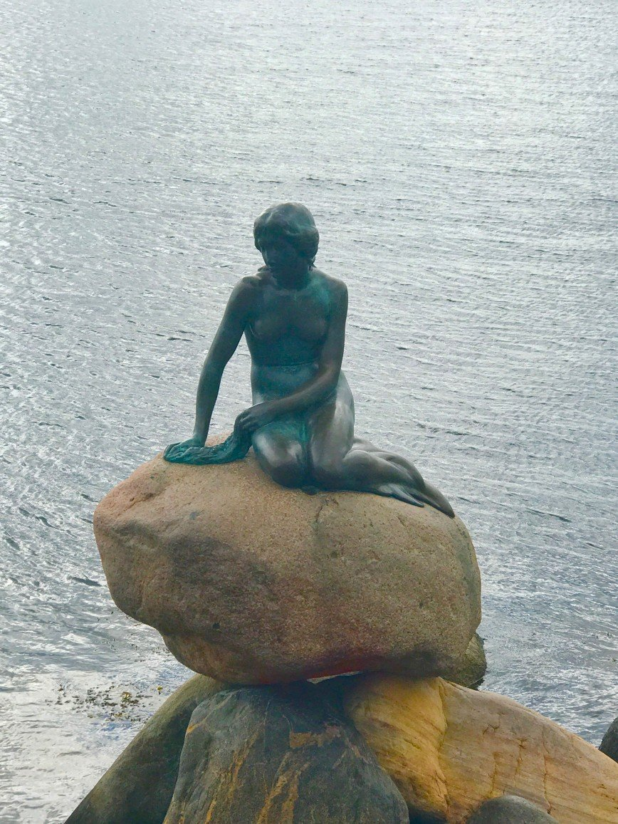 Автор: phonix, Фотозал: Туристические зарисовки, Русалка.  Копенгаген .