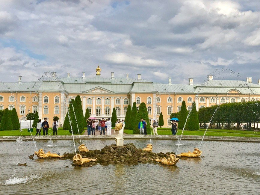 Автор: phonix, Фотозал: Туристические зарисовки, Петродворец