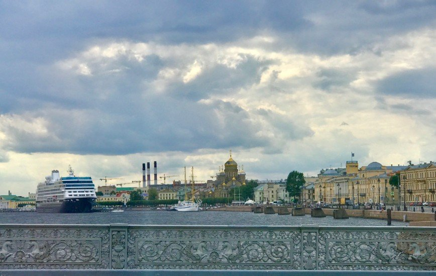 Автор: phonix, Фотозал: Туристические зарисовки, Санкт-Петербург . Большая Нева.