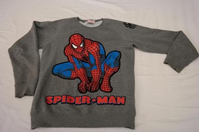 """Толстовка """"Человек паук"""" в отличном состоянии """"Fox kid"""". Рост 150-156 см (8-10 лет) Цена 300 руб."""
