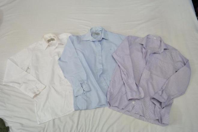 Подростковые рубашки для школы. Возраст 7-9 лет. Цена 250 рублей за каждую или 650 рублей за все.