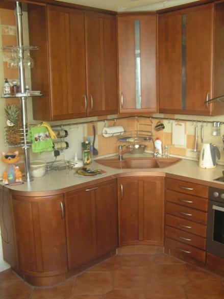 кухни фото с левым углом
