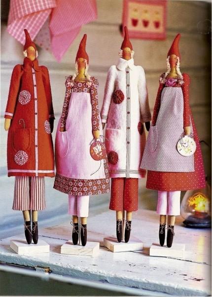 Выкройки для новогодней куклы фото 722
