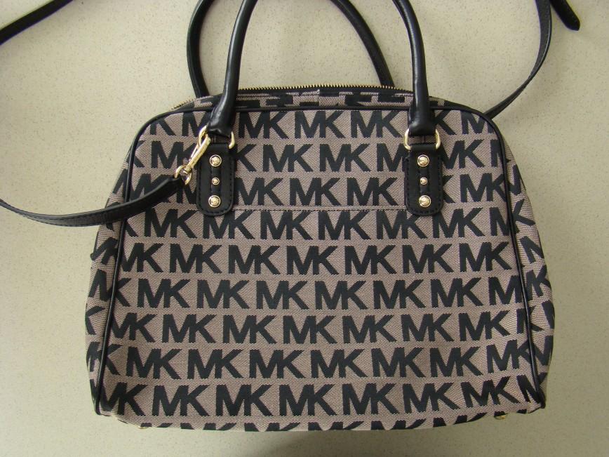 Michael Kors MK новая, ткань/кожа, США. Удобная, вместительная. 13500