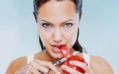 Рецепты сыроедения от Анжелины Джоли