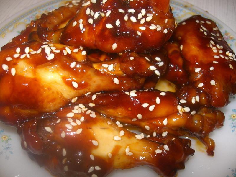 Маринад для крылышек с соевым соусом