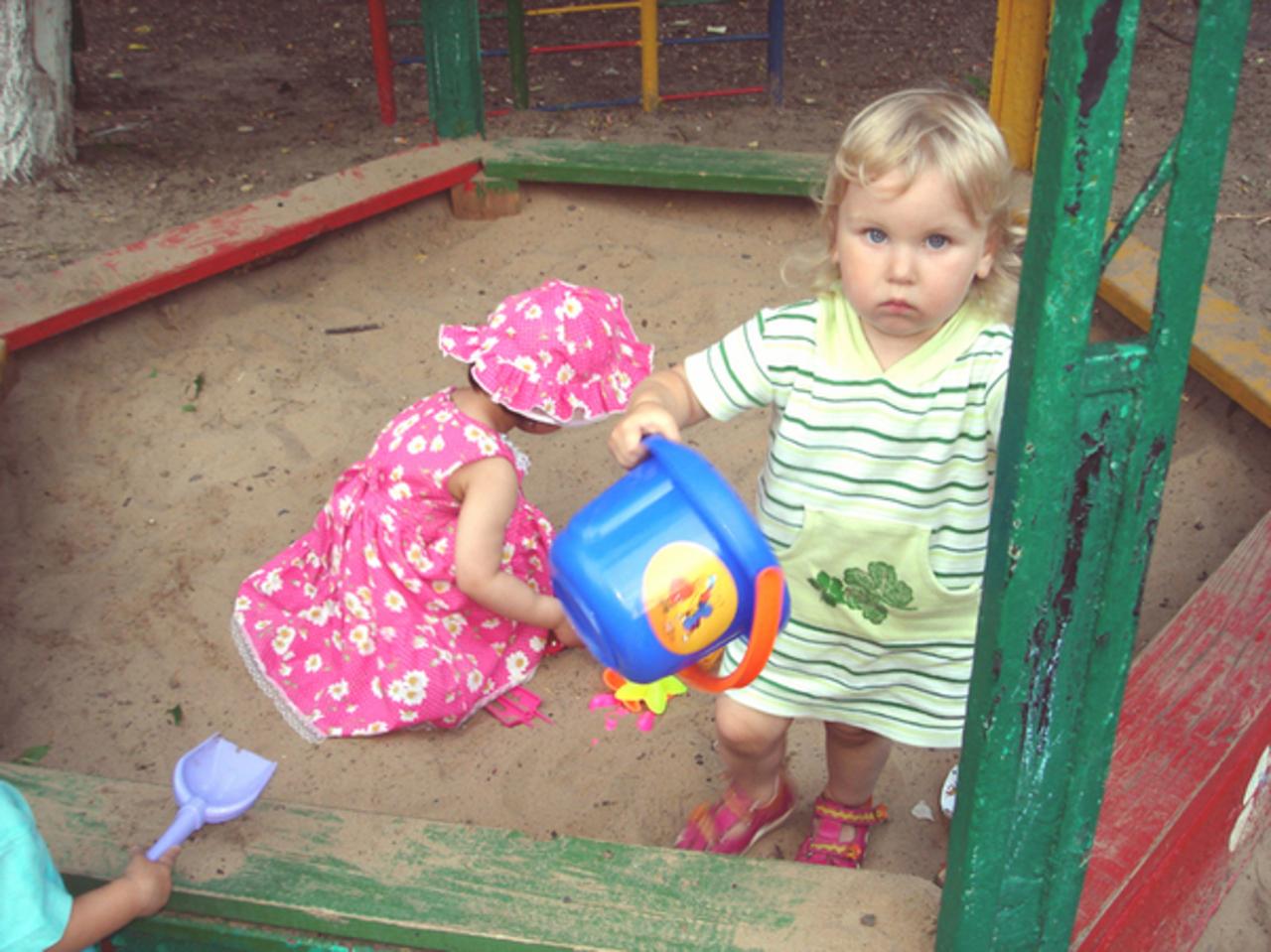 Песочница - дело серьезное)))