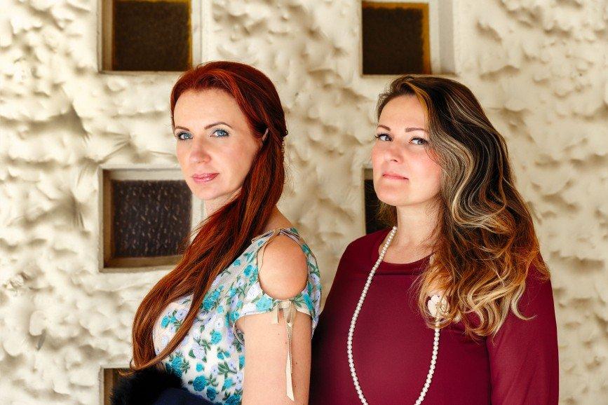 Автор: Avrora777, Фотозал: Я - самая красивая, Две сестры