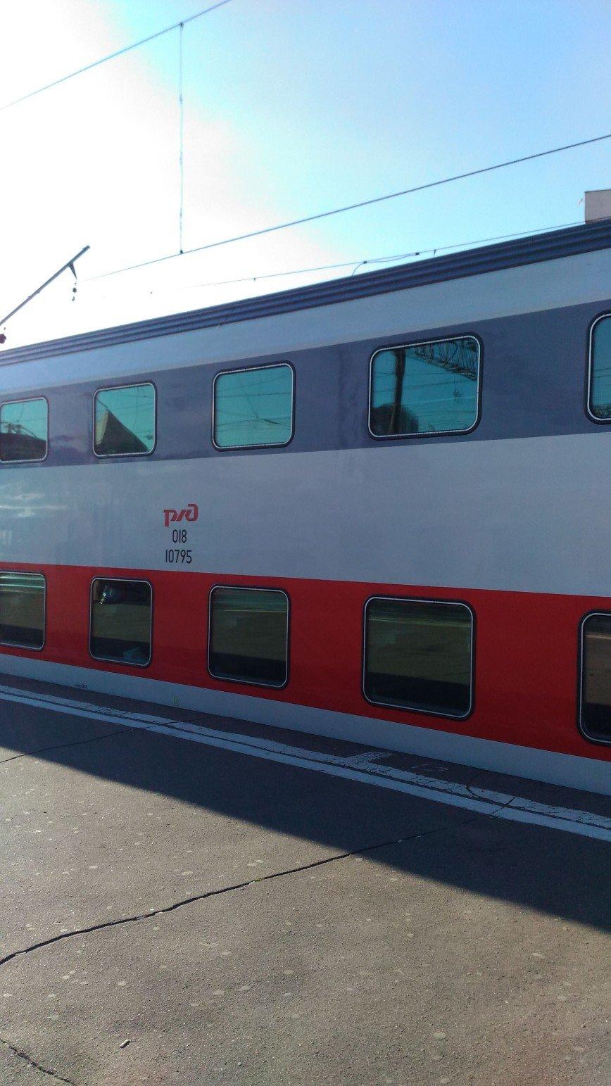 Автор: mesyachuck, Фотозал: Туристические зарисовки, Двухэтажный поезд Москва - Самара.