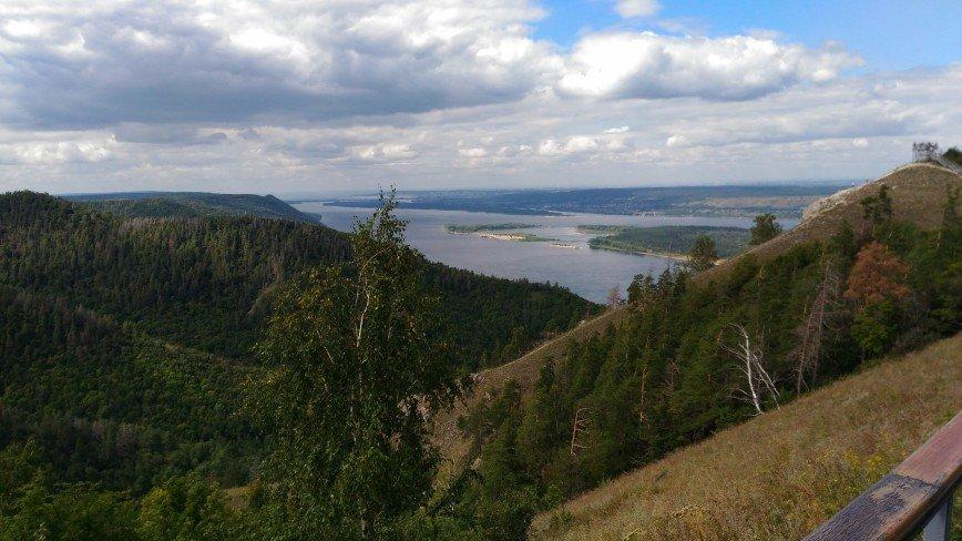 Автор: mesyachuck, Фотозал: Родные просторы, Вид на Волгу с Жигулевских гор.