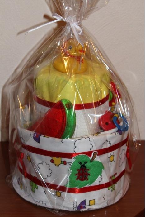№8 Образец упаковки - тортик поехал к заказчику. :)