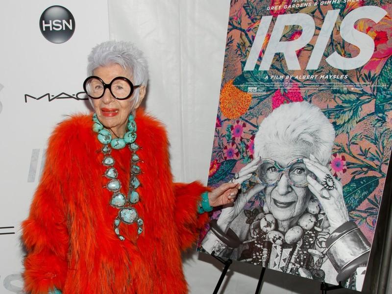 94-летняя старушка-чудачка, которая работает моделью