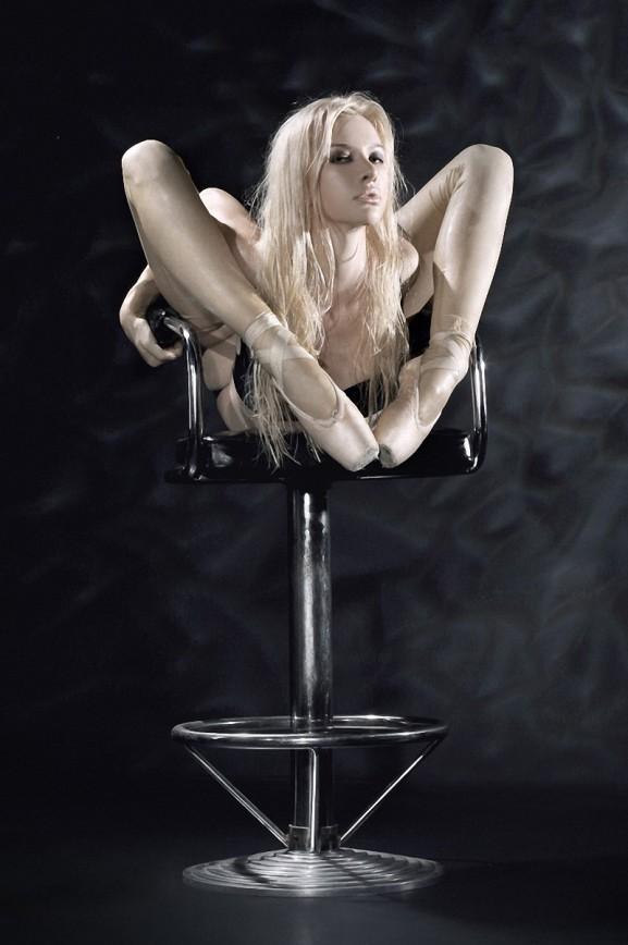 Самая гибкая женщина Юлия Гюнтель дважды в Книге рекордов Гиннесса