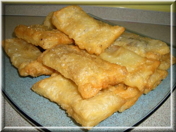 Пирожки бананово-шоколадные Пошаговый рецепт здесь http://domohozyaika.my1.ru/blog/2008-03-12-7