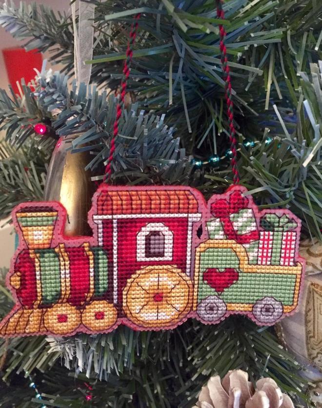 Автор: ОляЧе, Фотозал: Мое хобби, Новогодний паравозик с подарками