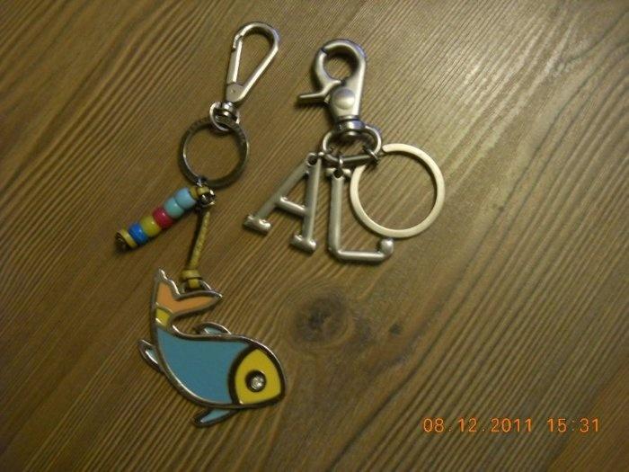 Брелки для ключей или на сумку, как декоративный. Родные, дорогие. По 1000 каждый