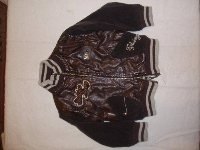 Куртка вельветовая от 86 до 95см., с кожаными вставками. На х/б. подкладке. Цена 500руб. Продана
