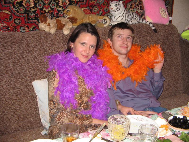 С мужем в Новый год