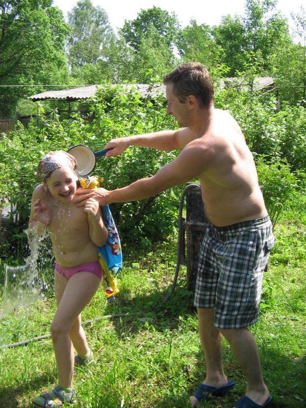 Освежающий летний душ